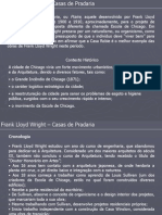 Apresentação - Casas de Pradaria (FLW)