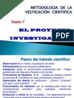 7 y 8 SESION 2013 Proyecto Inv Plant Del Problema Ok