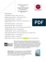 What's Happening At Trinity, March 22, 2013