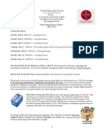 What's Happening At Trinity, May 3, 2013