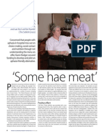 'Some hae meat'