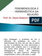 Fenomenologia e Hermeneutica Da Religiao 4