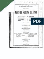 Memoria BCRP 1930