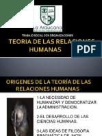 Teoría Relaciones Humanas