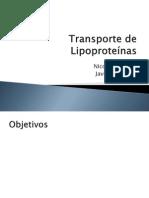 Transporte de Lipoproteinas