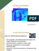 Neg Inter. Apertura Economica i