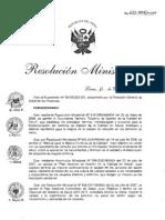 RM623-2008 Plan Del Estudio Del Clima Organizacional