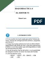 Linux - Ud4 - Editor Vi