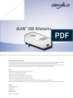 Manual Dlan 200 Avsmart Es