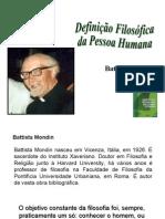 Battista Mondin PEDAGOGIA