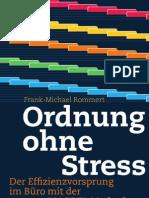 Ordnung Ohne Stress