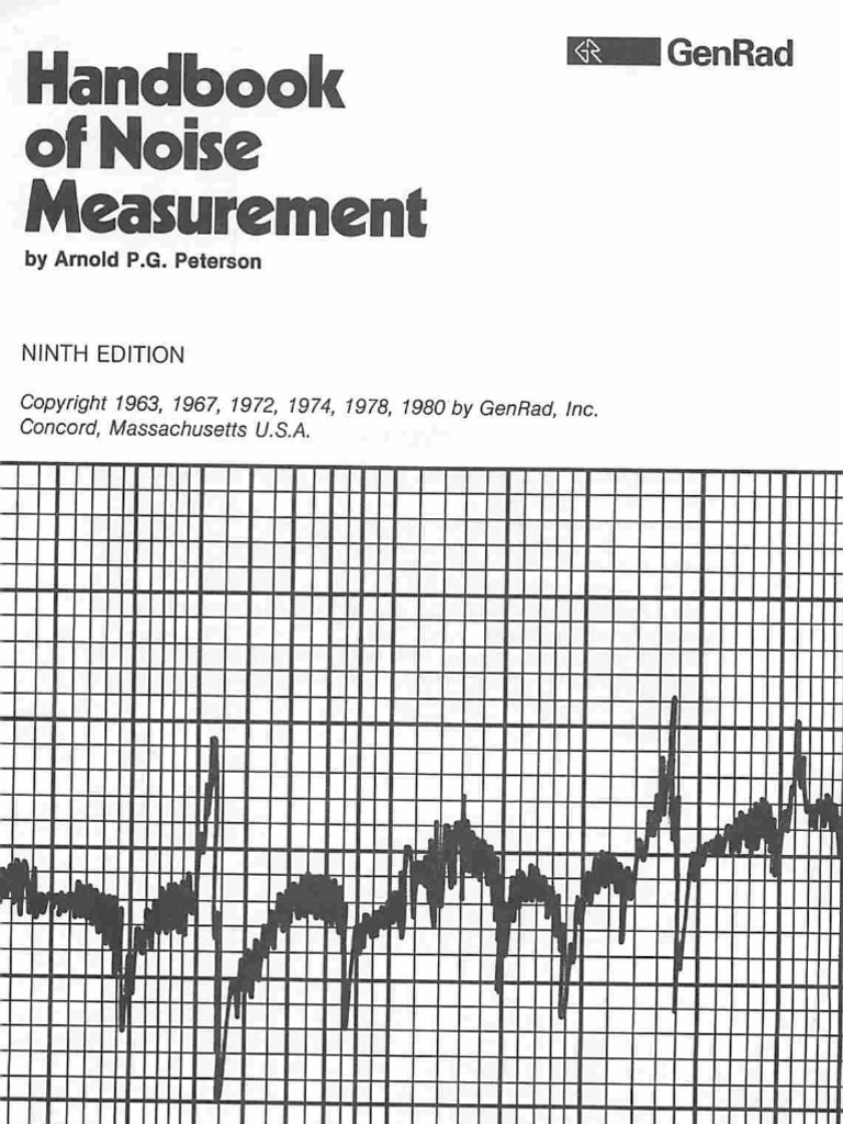 Preposition In Learn In Marathi All Complate: Handbook Of Noise Measurement