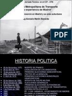 Agencia Metropolitana de Transporte-La Experiencia de Madrid-UTNar