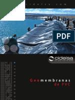 Geomembranas de Pvc
