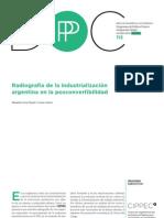 Radiografia de La Industrializacion Levy Yeyati Castro 2012