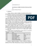 Aplicarea analizei pentru determinarea sulfiţilor din alimente şi băuturi prin fluxul de  injectare
