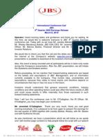 4Q09 Conference Call Transcription