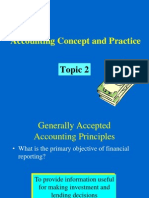 BBA UST Topic2 Accounting Concept & Practice