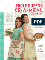 Recipes from The Casserole Queens Make-A-Meal Cookbook by Crystal Cook and Sandy Pollock