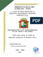 59689349 Tesis de Maestria Sobre Responsabilidad Civil Extra Contractual de Los Jueces y Del Estado