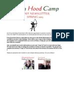 Staff Newsletter 2013