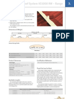 Technical Manual Part 3 1 KS1000 RW Roof