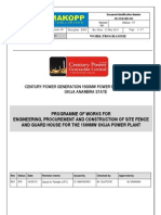 Century Power Work Programme Details