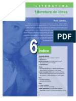 Literatura. Unidad 6- Literatura de Ideas