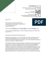 Inform JD-5 Mine TC Objection