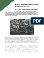 Teoria Conspiratiei de Ce Au Ajuns Germanii Sa-i Omoare Pe Evrei.