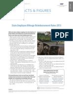 State Employee Mileage Reimbursement Rates 2013