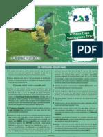 Prova Do PAS 1a Etapa 2012 Caderno FUTEBOL