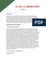 LA TEOLOGÍA DE LA LIBERACIÓN (NOTAS)