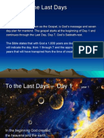 To the Last Days