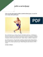 5 najboljih vježbi za mršavljenje