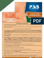 Prova Do PAS22012 2a Etapa Caderno RADAR