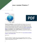 1Cómo formatear e instalar Windows 7