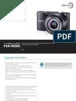 Samsung Nx1000 Guide