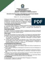 Edital Abertura_2013 VERSaO DRH -Publicado DOU