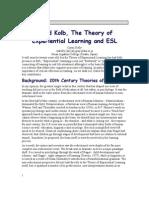 David KOLB- Invatarea experientiala