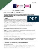 Call for Proposals - NPACS Online Social Media Project