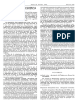 REGLAMENTO GENERAL DE CIRCULACION