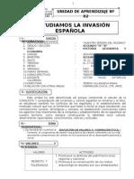 UNIDAD DE APRENDIZAJE Nº 02 HGE 2DO GRADO 21 DE MAYO DEL  2012