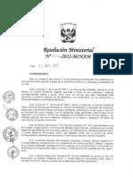 Rm_307-1[1] Estandares de Calidad Ambiental de Suelos Para Publicarse a Partir 17 Nov 2012