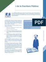 Elaborar La Escritura Publica