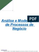 Analise e Modelagem de Processos de Negócio (resumos)