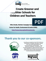 How to Create Greener and Healthier Schools for Children and Teachers