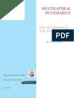 Multilateral Punishment - WTO & Philippines - Walden Bello
