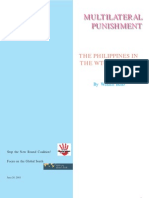 Multilateral Punishment - WTO & Philippines - Walden Bello