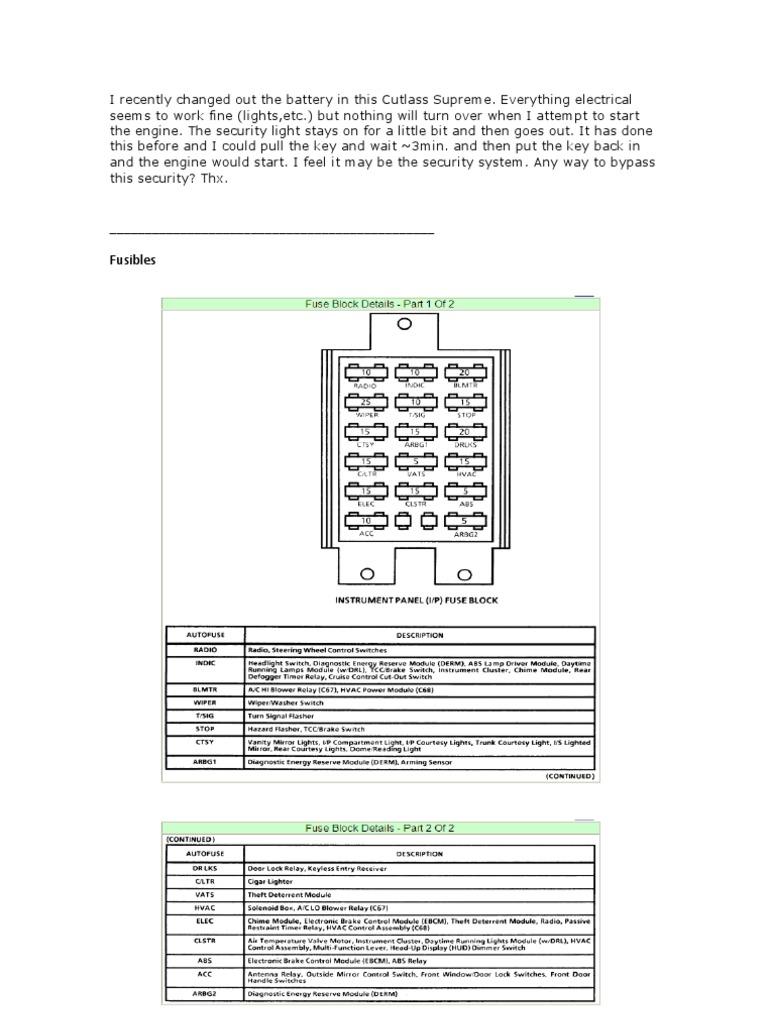 Cutlass | Electrical Connector | Resistor